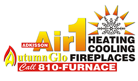 Call Adkisson Air1 Heating and Cooling and Autumn-Glo Fireplace Studio for reliable AC repair in Flint MI